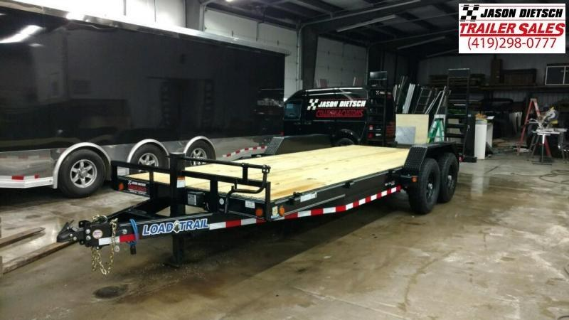 2019 Load Trail 83X20 Tandem Axle Carhauler Car / Racing Trailer...STOCK# LT-182448