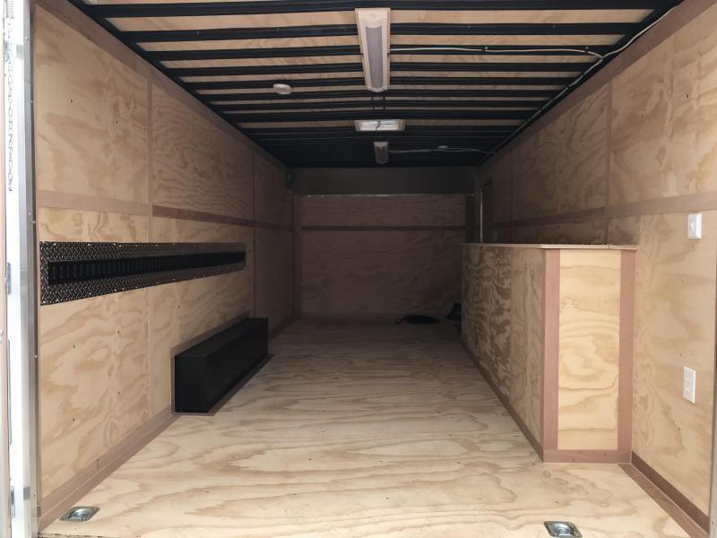 2020 United Trailer UXT 8.5x20 Enclosed Tool Crib Trailer....Stock#UN-167938