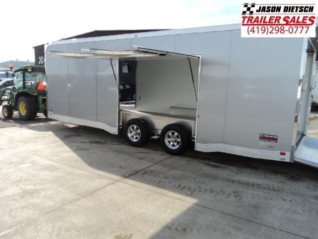 2018 ATC All Aluminum 8.5X24 Car Hauler Xtra Hi....AT-Stock # 212982