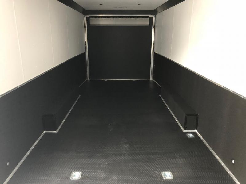 2019 United Trailer GEN 4- 8.5x28 EXTRA HEIGHT Enclosed Race Trailer....Stock#UN-160485