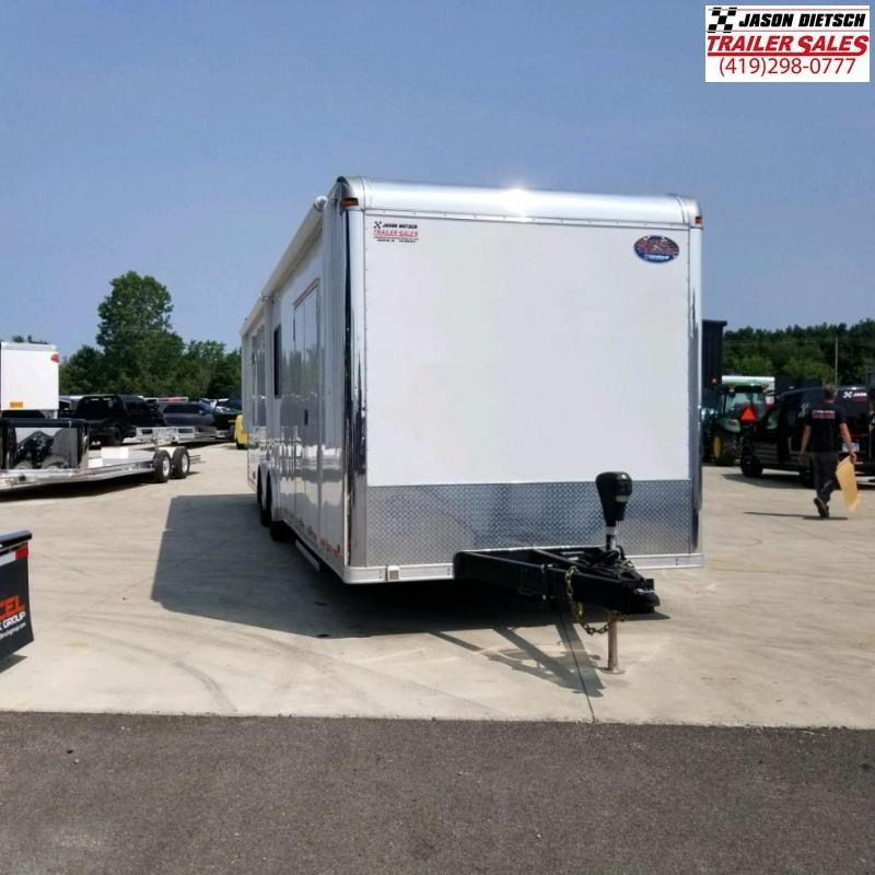 2017 United Trailers 8.5X32 Car / Racing Trailer....STOCK UN-2019