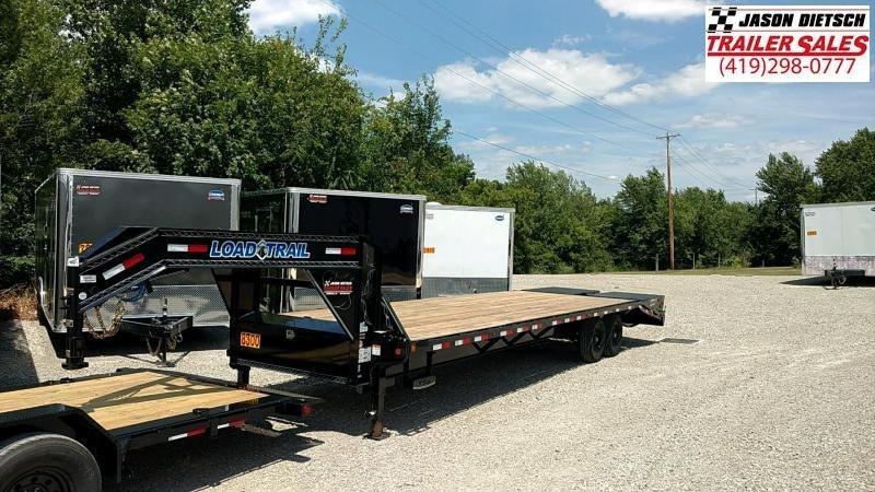 2018 Load Trail 102X30 Tandem Heavy Duty Gooseneck Equipment Trailer....LT-168869