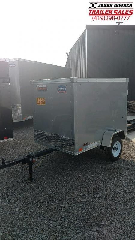2019 United Trailers XLE 4X6 Enclosed Cargo Trailer....STOCK# UN-163858