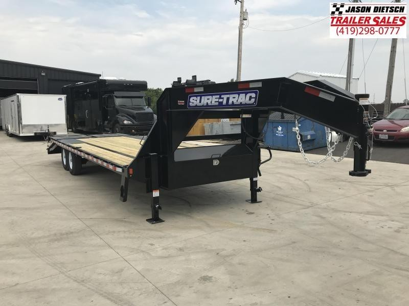 2019 Sure-Trac 8.5x20+5 LowPro Deckover Tandem....STOCK# ST-254701