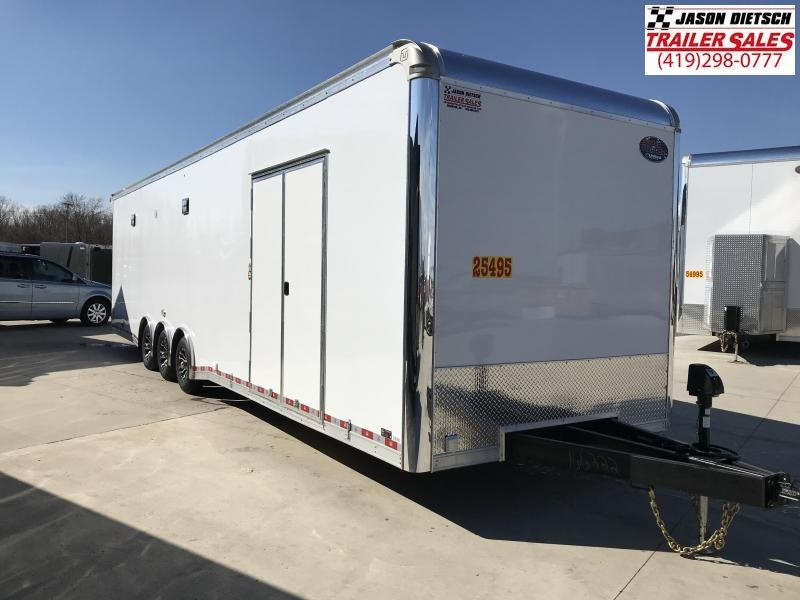 2019 United Trailers 8.5X34 EXTRA HEIGHT Car / Racing Trailer....STOCK# UN-166322