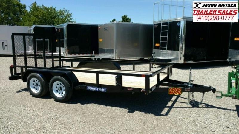 2018 Sure Trac 7x14 Utility Trailer....Stock# ST-226397