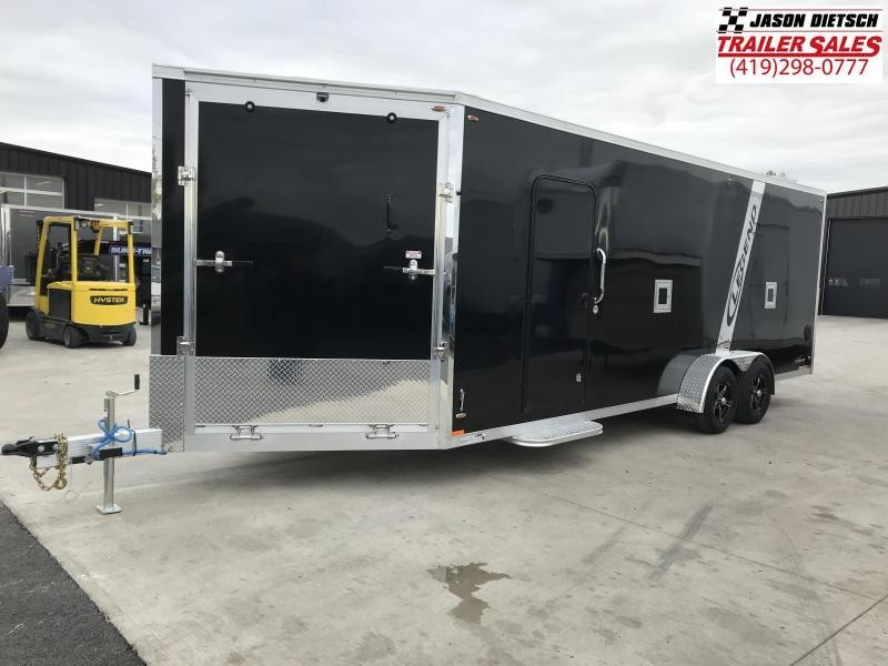 2019 Legend Manufacturing 7X23 EXPLORER EXTRA HEIGHT Snowmobile Trailer....STOCK LG-317357