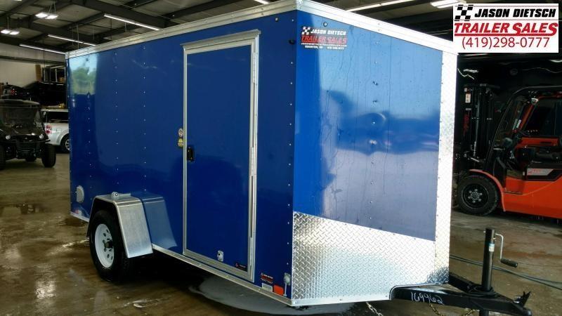 2020 United XLV 6X12 V-Nose Slant Enclosed Cargo Tr....Stock# UN-169962