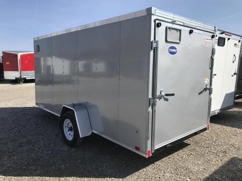 2020 United Trailers XLV 6X14 Enclosed Cargo Trailer....STOCK UN-168106