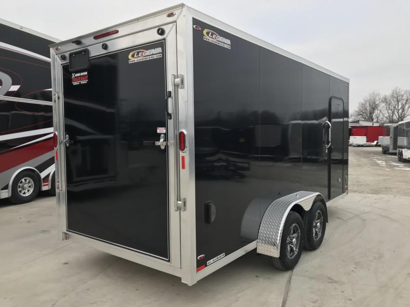 2019 Legend Manufacturing 7x19 FTV Enclosed Cargo Trailer... STOCK# 1317352