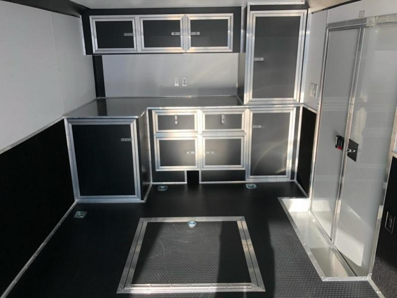 2019 United Trailer GEN 4- 8.5x28 Enclosed Race Trailer....Stock#UN-160459