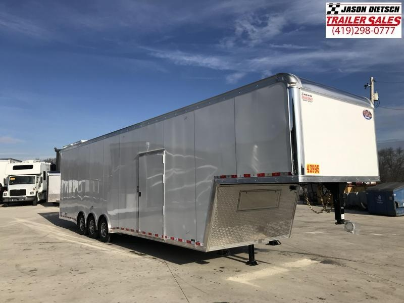 2019 United Trailers 8.5X40 RAMP OVER Car / Racing Trailer....STOCK# UN-165334