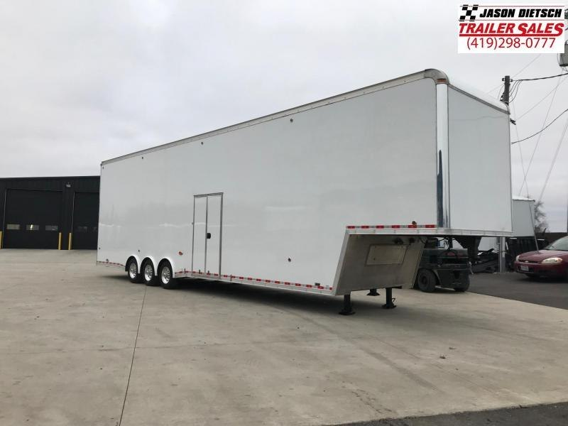 2015 United Trailers USHGN 8.5X44 Car / Racing Trailer