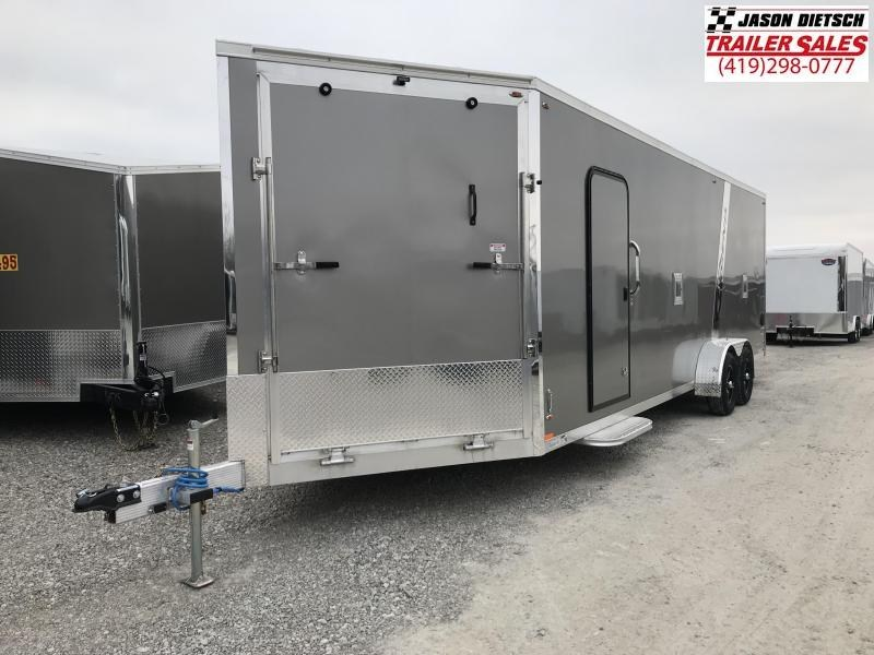 2019 Legend Manufacturing 7X29 EXPLORER EXTRA HEIGHT Snowmobile Trailer....STOCK LG-317350