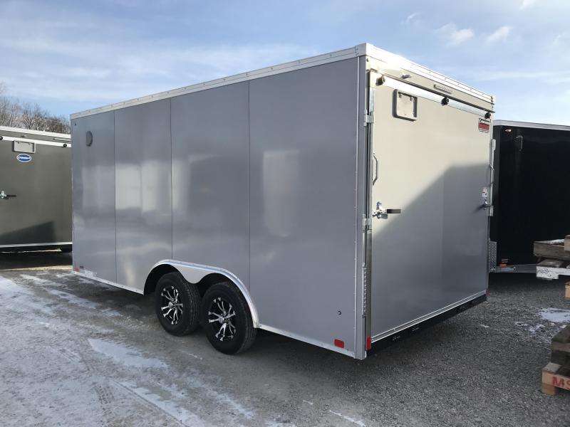 2019 United Trailers XLTV 8.5x19 Wedge-Nose Enclosed Car Hauler....Stock # UN-166622