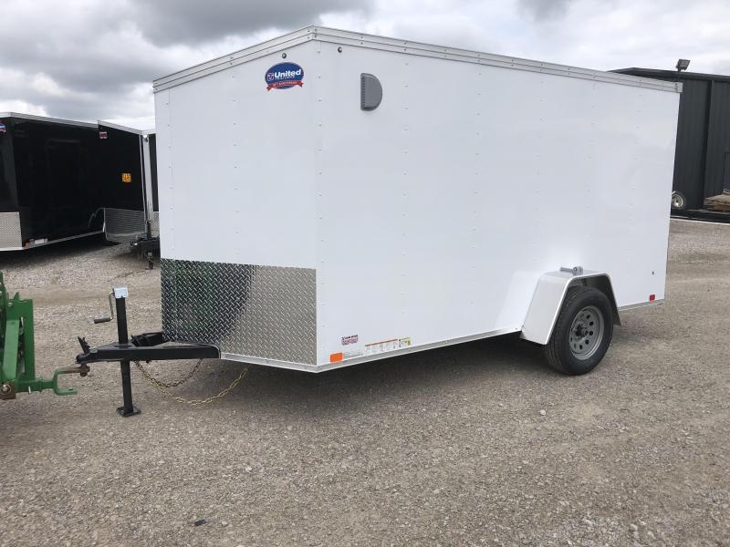 2019 United XLV 6X12 V-Nose Slant Enclosed Cargo Tr....Stock# UN-162739