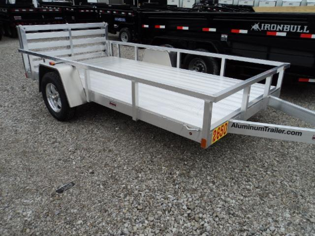 2018 ATC 6x12 All Aluminum Utility Trailer....Stock#AT-213357