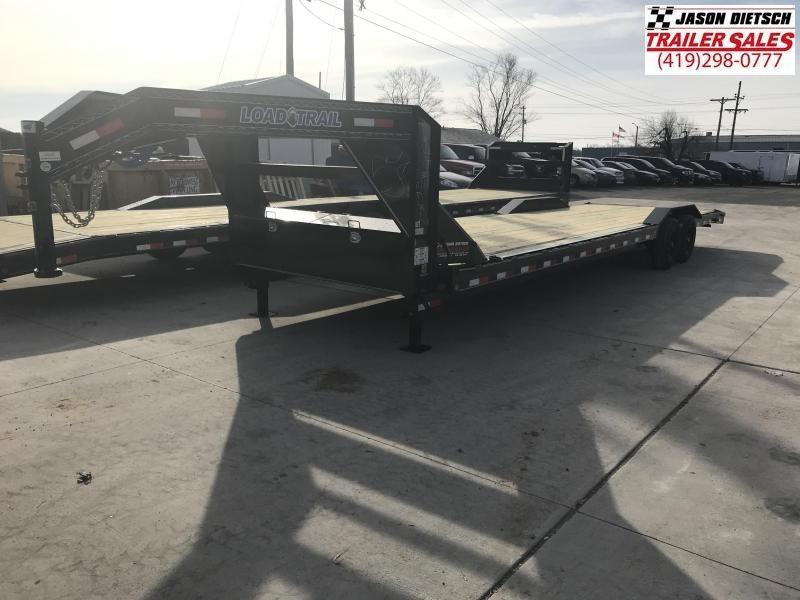2019 Load Trail 102X32 Tandem Gooseneck Carhauler Car / Racing Trailer....STOCK# LT-182342