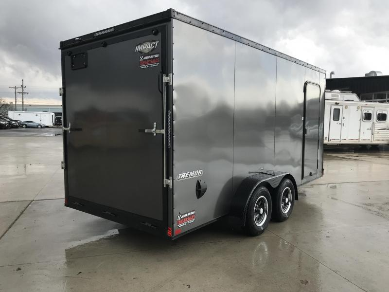 2019 Impact Trailers 7x16 EXTRA HEIGHT Enclosed Cargo Trailer....IMP001569