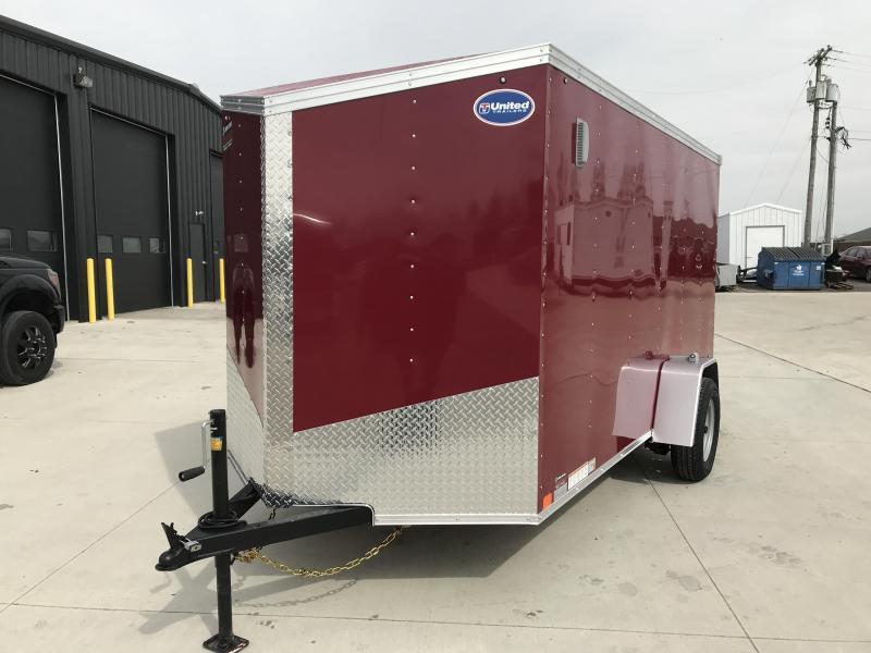 2020 United XLV 6X12 V-Nose Slant Enclosed Cargo Tr....Stock# UN-166130