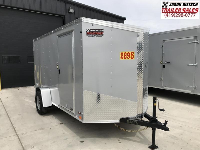 2020 United XLV 6X12 V-Nose Slant Enclosed Cargo Tr....Stock# UN-166138