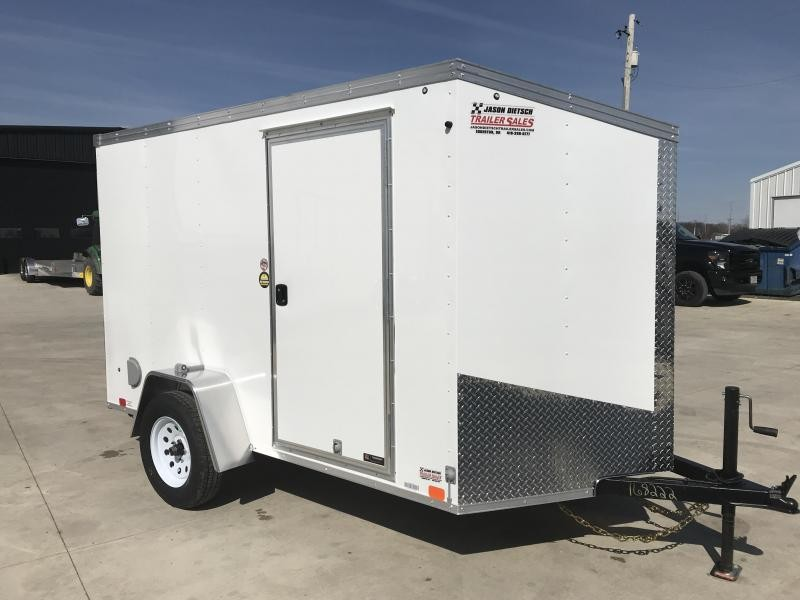2020 United XLV 6X10 V-Nose Slant Enclosed Cargo Tr....Stock# UN-168222