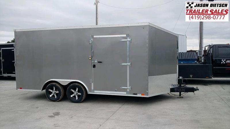 2019 United Trailers XLTV 8.5x19 Wedge-Nose Enclosed Car Hauler....Stock # UN-159821