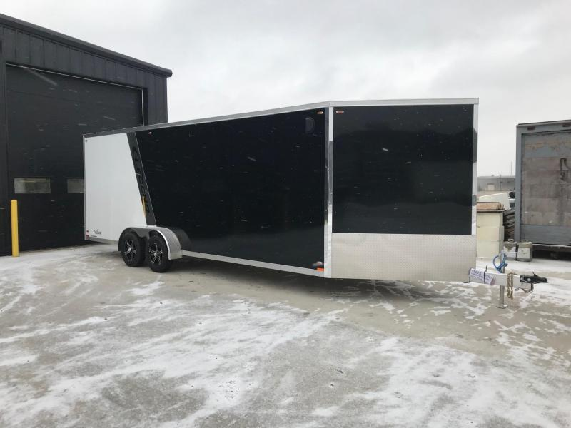 2019 Legend Manufacturing 7X27 EXPLORER EXTRA HEIGHT Snowmobile Trailer....STOCK LG-317360