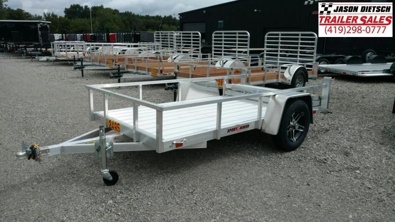 2020 Sport Haven 5 X 10 Aluminum Utility Trailer....STOCK# ST-009417