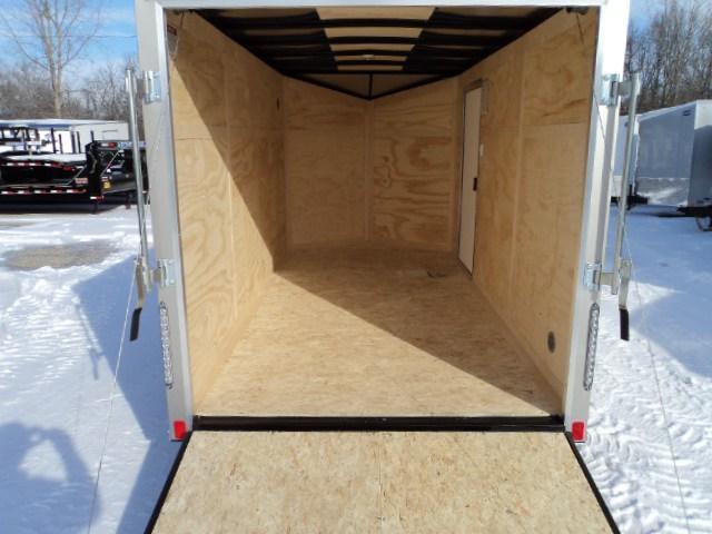 2018 United XLV 6X12 V-Nose Slant Enclosed Cargo Trailer...Stock#UN-161240