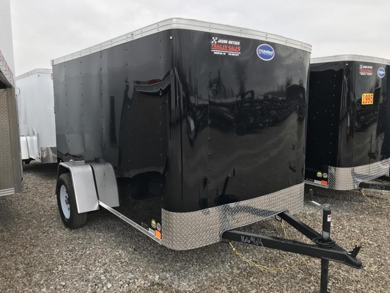 2019 United Trailers XLE-610SA30-S Enclosed Cargo Trailer