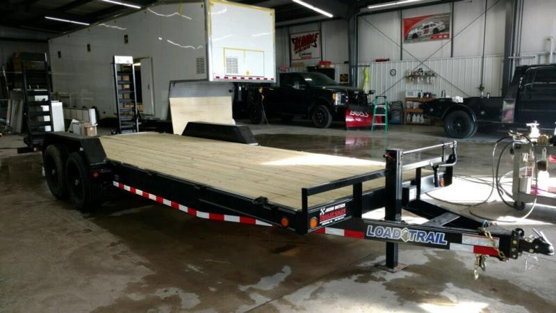 2019 Load Trail 83X22 Tandem Axle Carhauler Car / Racing Trailer....STOCK# LT-183115