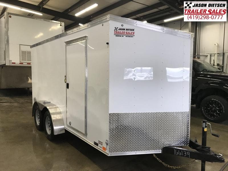 2019 United Trailers XLV 7x14 V-Nose Enclosed Cargo Trailer....Stock# UN-166139