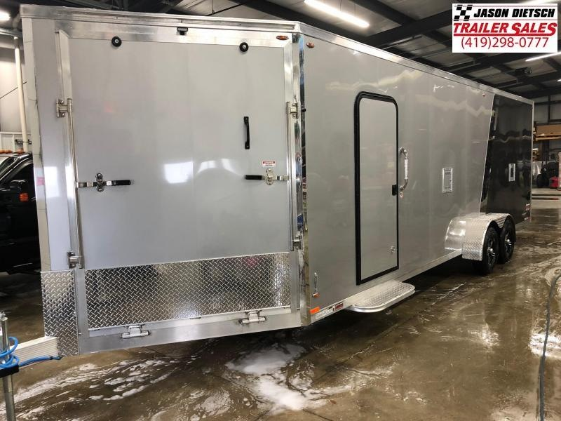 2019 Legend Manufacturing 7X29 EXPLORER EXTRA HEIGHT Snowmobile Trailer....STOCK LG-317344