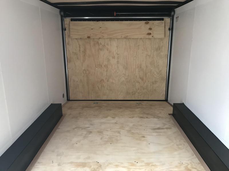 2019 United Trailers XLTV 8.5x19 Wedge-Nose Enclosed Car Hauler....Stock # UN-164679