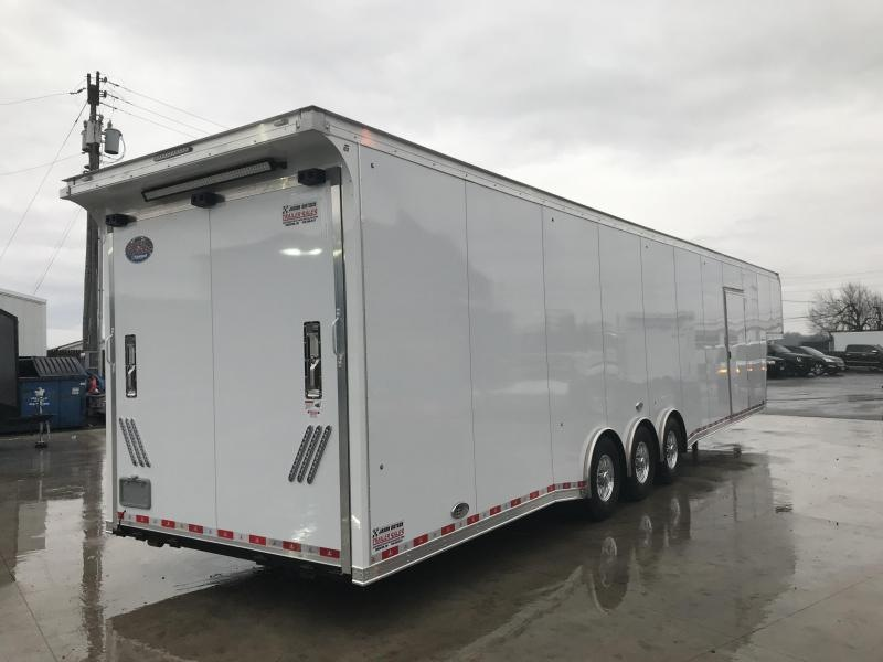 2019 United USHGN 8.5x44 Super Hauler Gooseneck Race Trailer Extra Height....Stock# UN-165304