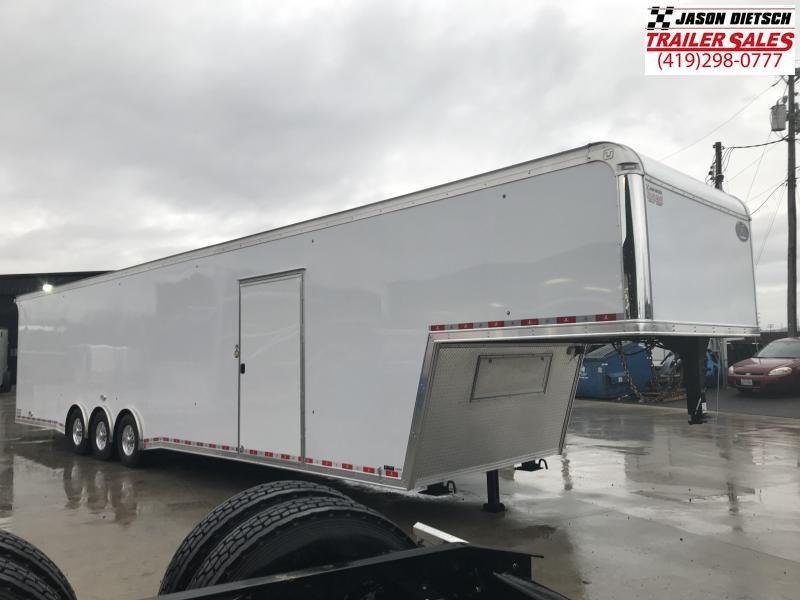 2019 United USHGN 8.5x44 Super Hauler Gooseneck Race Trailer Extra Height....Stock# UN-165304