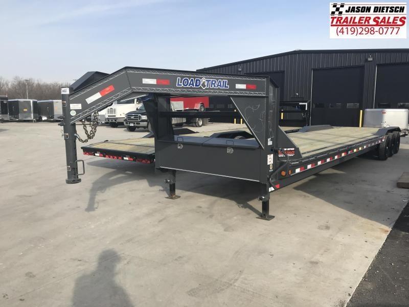 2019 Load Trail 102X40 Triple Gooseneck Carhauler Car / Racing Trailer....STOCK# LT-182003