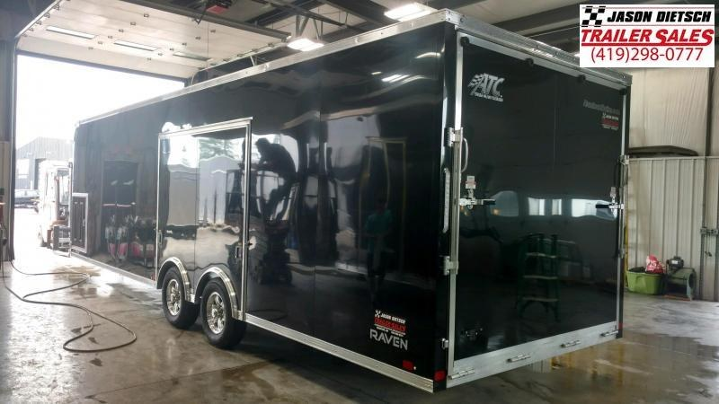 2020 ATC 8.5X28 Car / Racing Trailer....STOCK # AT-219125