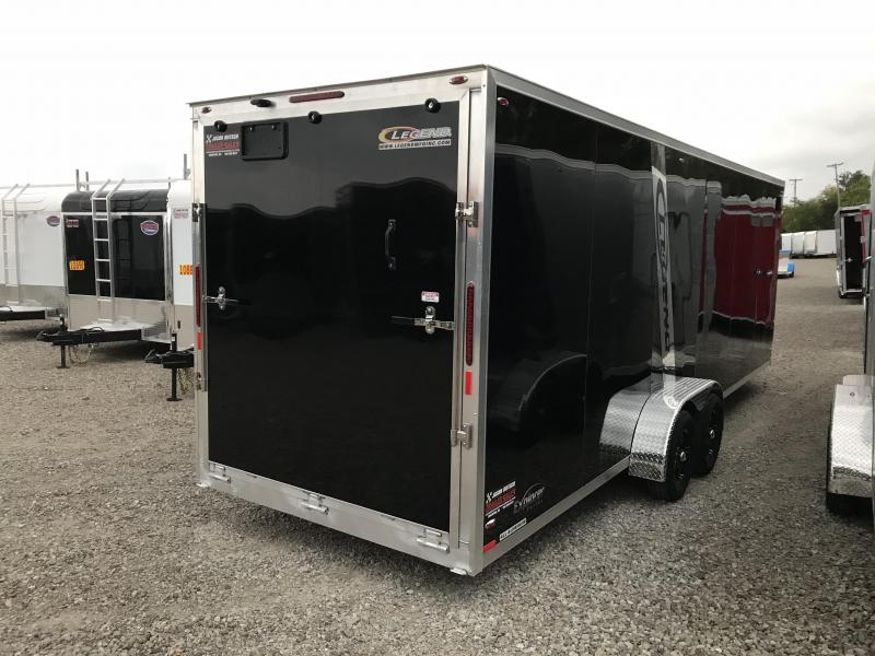 2019 Legend Manufacturing 7X29 EXPLORER EXTRA HEIGHT Snowmobile Trailer....STOCK LG-317334