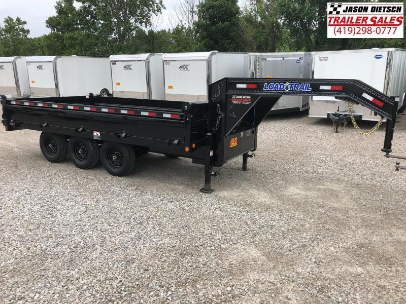 2018 Load Trail 96X16 Triple Axle Gooseneck Deck Over Dump Trailer....STOCK# LT-168486