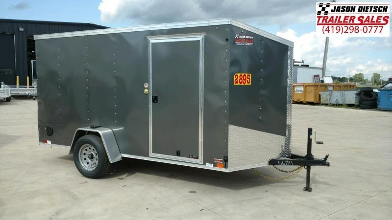 2020 United XLV 6X12 V-Nose Slant Enclosed Cargo Tr....Stock# UN-166134