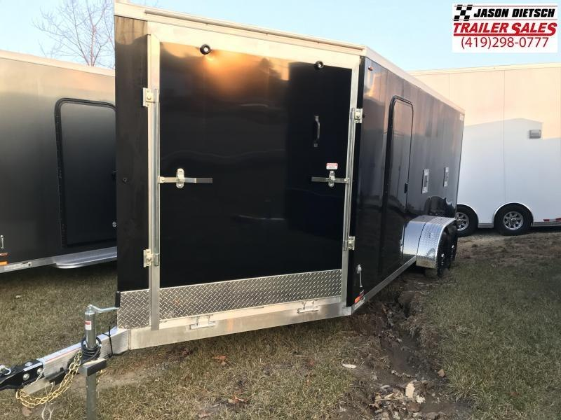2019 Legend Manufacturing 7X23 THUNDER Snowmobile Trailer....STOCK LG-317363