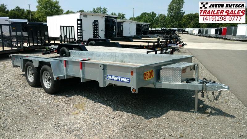 2015 sure-trac 7X16  Utility trailer....STOCK# 2571