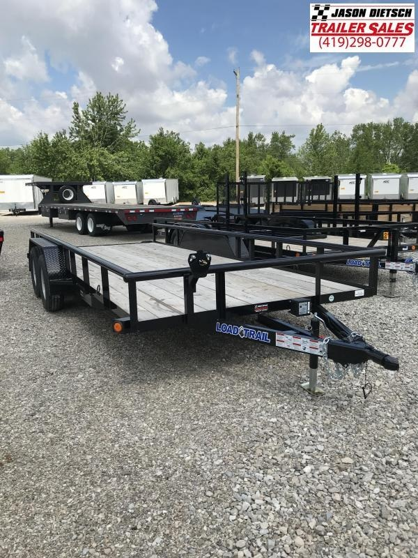 2018 Load Trail UE 83x18 Tandem Axle Utility Trailer....Stock#LT-53152
