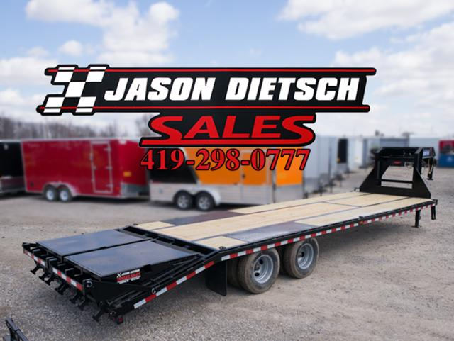 2016 Sure-Trac ST102X25+5 Equipment Trailer STOCK- 1106