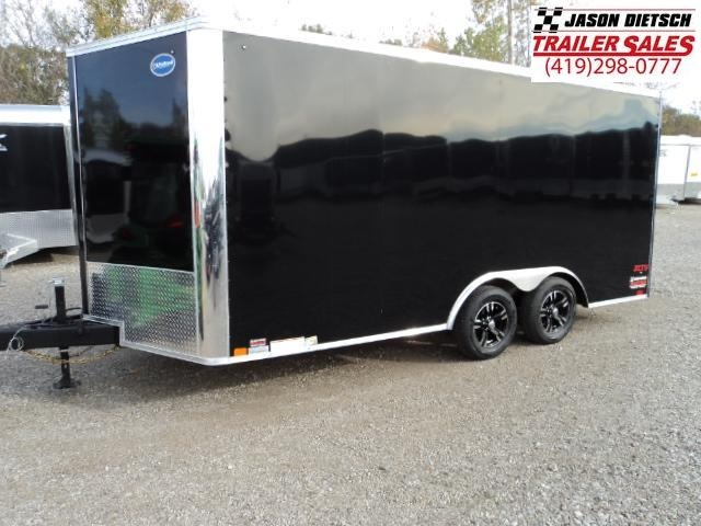 2018 United Trailers XLTV 8.5x19 Wedge-Nose Enclosed Carhauler....Stock # UN-159271