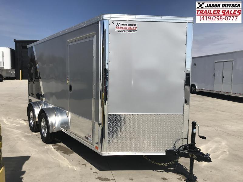 2020 United Trailers XLMTV 7x14 Wedge-Nose Enclosed Car Hauler....Stock # UN-167816