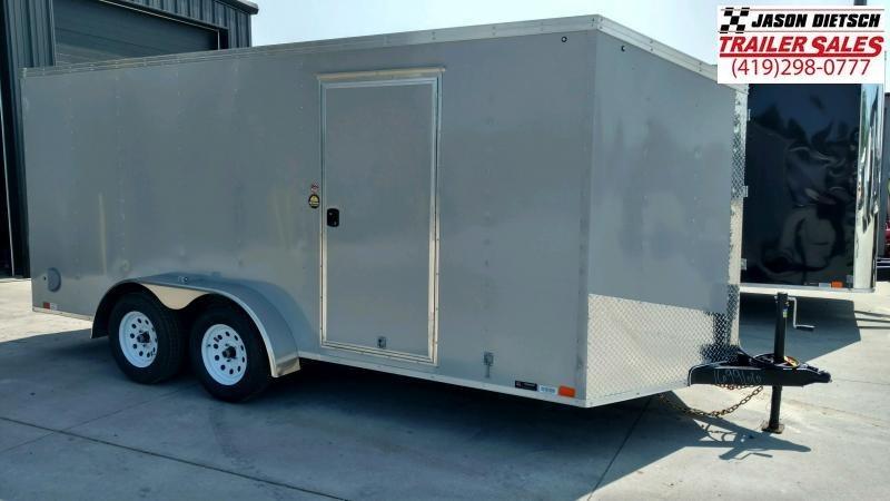 2020 United Trailers XLV 7x16 V-Nose Enclosed Cargo Trailer....Stock# UN-166194