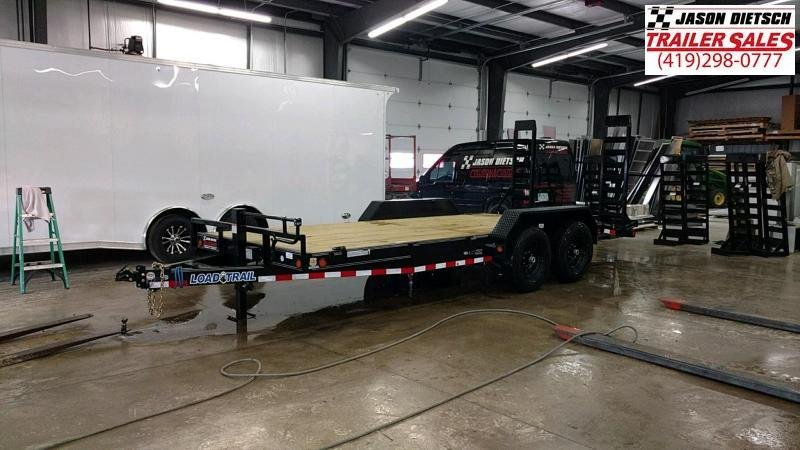 2019 Load Trail 83x18 Open Car / Racing Trailer....STOCK# LT-183506